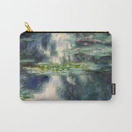1907-Claude Monet-Pond with Water Lilies Carry-All Pouch