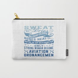 Aviation Ordnanceman Woman Carry-All Pouch