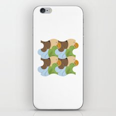 Teselación de animales iPhone & iPod Skin