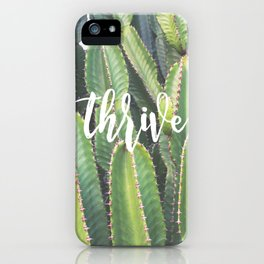 MANTRA SERIES: Thrive iPhone Case