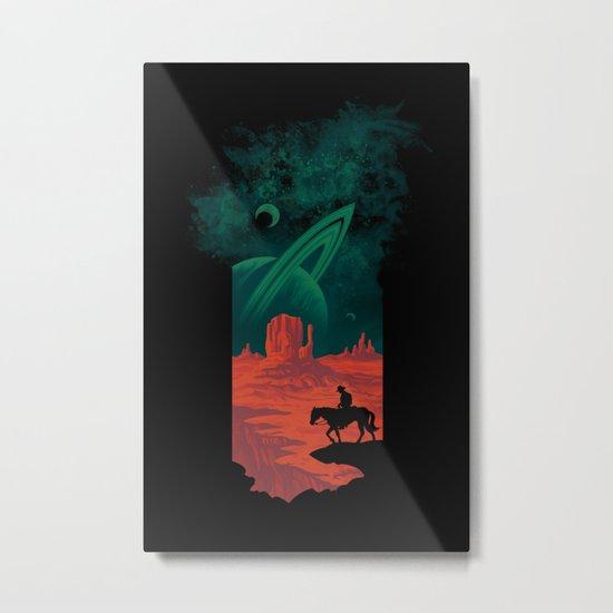 Final Frontiersman Metal Print