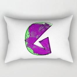 G letter Rectangular Pillow