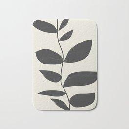 minimal plant Bath Mat