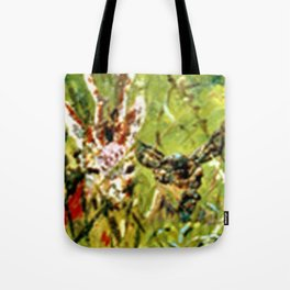 Watching and Waiting Tamely Tote Bag