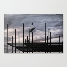 Iron Workers, Canandaigua 2015 Canvas Print