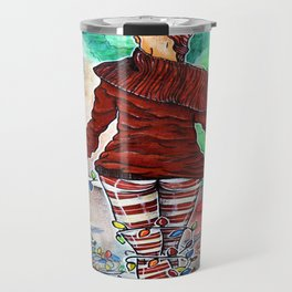Tis' The Season, Fuckers - Calendar Collection Travel Mug