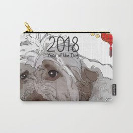 Year of the Dog - Fluffy Carry-All Pouch