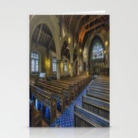 christ Stationery Cards featuring Christ Church by Ian Mitchell