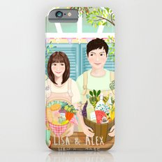 Wedding invitation design for Lisa and Alex Slim Case iPhone 6s