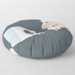 Wool wash Floor Pillow