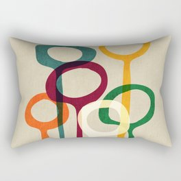 Blowing bubbles Rectangular Pillow
