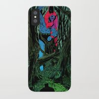 camp iPhone & iPod Cases featuring Training Camp by Eric Bonhomme