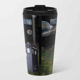 13th Doctor Metal Travel Mug