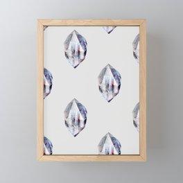 fluo (pattern) Framed Mini Art Print