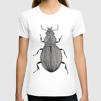 beetle T-shirts featuring Beetle  by Lucia Cordero