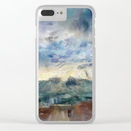 Thunderstorms Clear iPhone Case