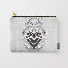 Owl Vector Carry-All Pouch