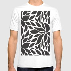 Bloom White MEDIUM Mens Fitted Tee
