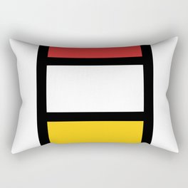 African colorful prints of geometry2 Rectangular Pillow