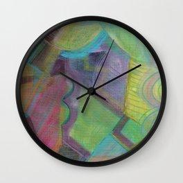 Flicka Flicka Flicka Wall Clock