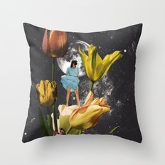 GARDEN OF EDEN Throw Pillow
