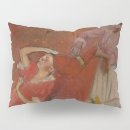 Combing the Hair by Edgar Degas Pillow Sham
