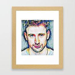 Chris Evans 2. Framed Art Print