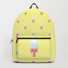 Kawaii melting popsicle pattern Backpack