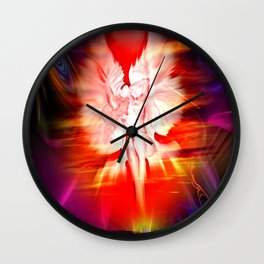 Heavenly apparition 5 Wall Clock