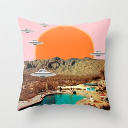 They've arrived!  Throw Pillow