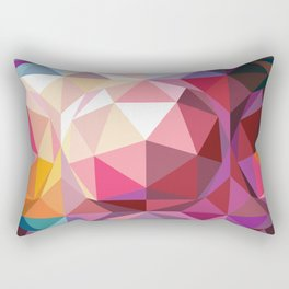 Geodesic dome pattern Rectangular Pillow