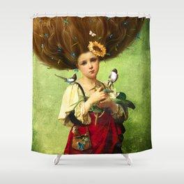 Warm Embrace Shower Curtain