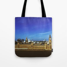 Big Ben in the sun Tote Bag