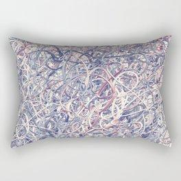 Digital Pollocks Rectangular Pillow