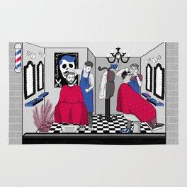 Barbershop Life Rug