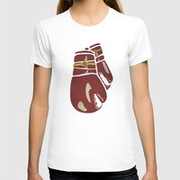 boxing T-shirts featuring Power Boxing by Lucas Scialabba :: Palitosci