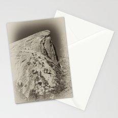 Yosemite Half Domes Backside Re-imagined Stationery Cards
