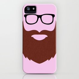 Bearded Mac Guy iPhone Case