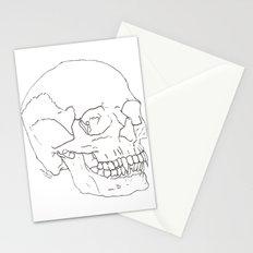 Vamp Skull Stationery Cards