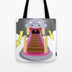 The Hippo's Not So Tempting Offer Tote Bag