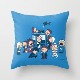 Who's Nuts? Throw Pillow