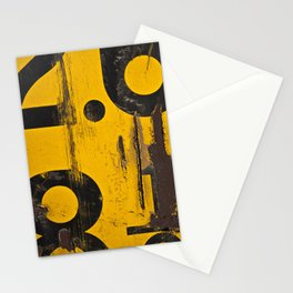 Yellow Signs Stationery Cards