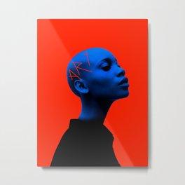 Mulher rei ART 2 Metal Print