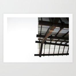 Overhang, Los Angeles Art Print