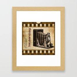 Cherish Yesterday Framed Art Print