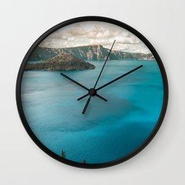 Summer At The Lake Wall Clock
