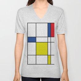 Mondrian 1 Unisex V-Neck