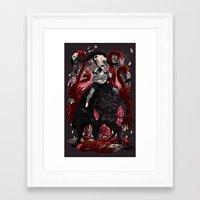 kieren walker Framed Art Prints featuring Walker by SPYKEEE
