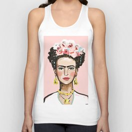 Frida Kahlo Unisex Tank Top