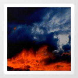 Sunset #220 Art Print